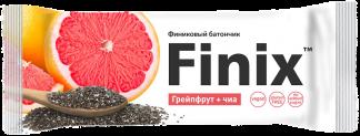 Финиковый батончик с грейпфрутом и семенами чиа